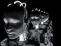 Robot Women 6 Royalty Free Stock Image
