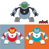 Robot y diseño de la tecnología Fotografía de archivo