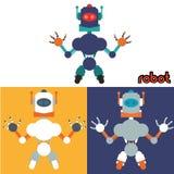 Robot y diseño de la tecnología Imagen de archivo