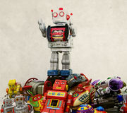 Robot zabawki Obraz Royalty Free