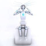 Robot3 Royalty-vrije Stock Foto's