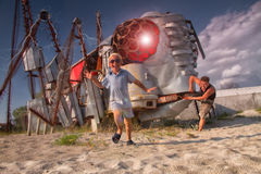 Robota atak Fotografia Stock