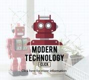 Robota cyborga AI robotyka androidu pojęcie Obrazy Royalty Free