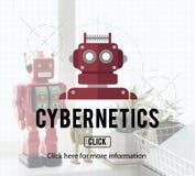 Robota cyborga AI robotyka androidu pojęcie Zdjęcie Stock