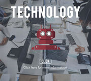 Robota cyborga AI robotyka androidu pojęcie Zdjęcie Royalty Free