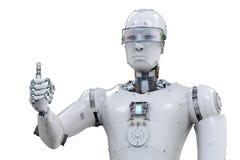 Robota kciuk up royalty ilustracja