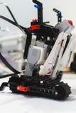 Robota konstruktora innowaci technologii pojęcie Zdjęcia Stock