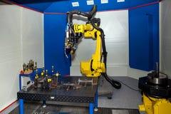 Robota spawalniczy wyposażenie Obrazy Stock