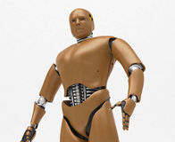 Robota test, bioRid Zdjęcie Stock