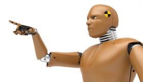 Robota test, bioRid Zdjęcia Royalty Free