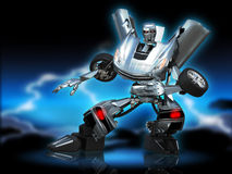 Robota transformator Zdjęcia Stock