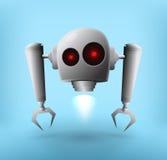 Robota unosić się ilustracji
