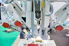 Robotachtig chirurgisch systeem royalty-vrije stock foto