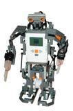 Robotachtig cijfer Royalty-vrije Stock Afbeeldingen