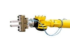 Robotachtig hoofddetail Stock Fotografie
