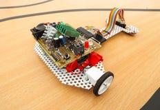 Robotachtige auto Stock Foto
