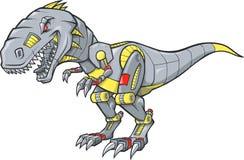 Robotachtige Tyrannosaurussen Rex royalty-vrije illustratie