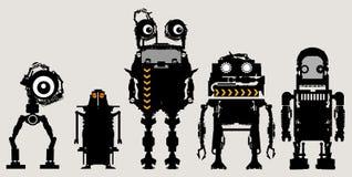 robotar Arkivfoto