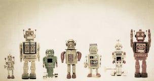 robotar Arkivfoton
