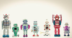 robotar Arkivbilder