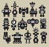 Robotar monster, främlingsamling #6. Royaltyfri Bild