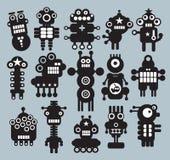Robotar monster, främlingsamling #7. Royaltyfria Foton