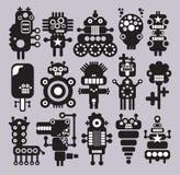 Robotar monster, främlingsamling #10. Arkivbild