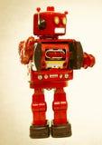 Robotar säger högt Royaltyfria Bilder