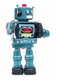 Robotar säger högt Royaltyfria Foton