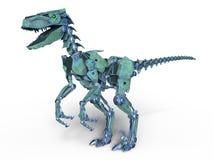 Robotdinosaurus vector illustratie