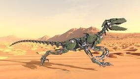 Robotdinosaurus royalty-vrije illustratie