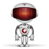 Robotdoktor royaltyfri illustrationer