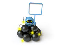 Roboter Lizenzfreie Stockfotografie