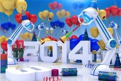 Roboter 2014 Lizenzfreie Stockfotografie