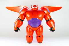 Roboter BAYMAX von Disney-Film GROSSEM HELDEN 6 Lizenzfreie Stockfotografie