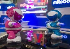 Roboter CES 2014 stockbild