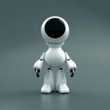 Roboter in einem Spacesuit lizenzfreie abbildung
