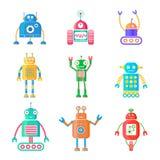 Roboter eingestellt Lizenzfreie Stockfotos