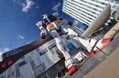 Roboter gundum bei Odaiba in Japan Lizenzfreies Stockbild