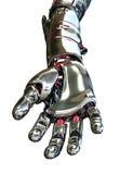 Roboter-Hand, die vorwärts erreicht lizenzfreie abbildung