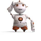 roboter mignon de sort d'émotion Images stock