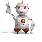 roboter mignon de sort d'émotion Images libres de droits