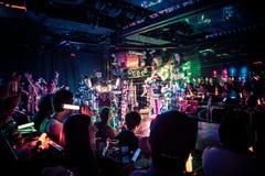 Roboter-Restaurant //Tokyo, Japan Stockfoto