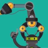 Roboter und Technologiedesign Lizenzfreie Stockfotos