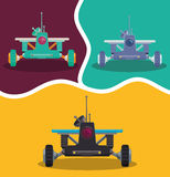Roboter und Technologiedesign Lizenzfreies Stockfoto