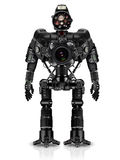 Roboter von photocameras Lizenzfreie Stockfotos