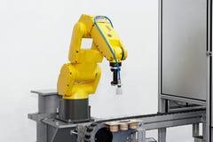 Roboterarm Stockbild