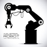 Roboterdesign stock abbildung