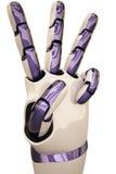 Roboterhände Stockbild