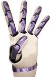 Roboterhände Stockfotografie